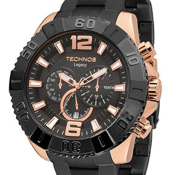 Relógio Technos Masculino Classic Legacy Os20ic/5p + Nf