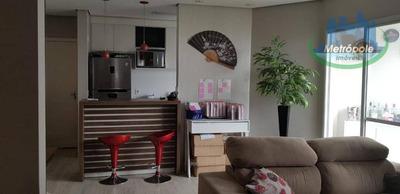Apartamento Com 3 Dormitórios À Venda, 66 M² Por R$ 290.000 - Vila Endres - Guarulhos/sp - Ap0923