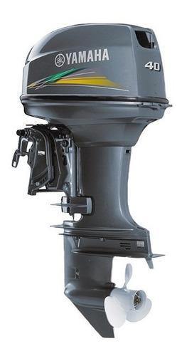 Imagem 1 de 3 de Motor De Popa Yamaha 40hp 2t Aws Comando A Distância