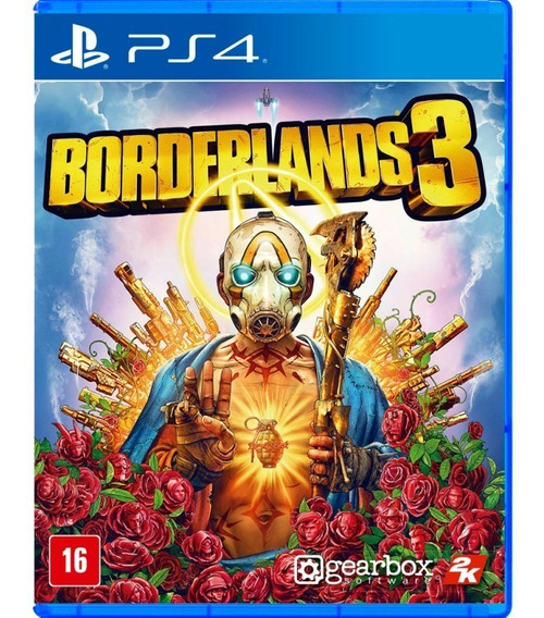 Borderlands 3 Ps4 Mídia Física