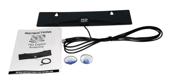 X-72 Digital Indoor Tv Antena Hdtv D Rea Hd Vhf Uhf Flat