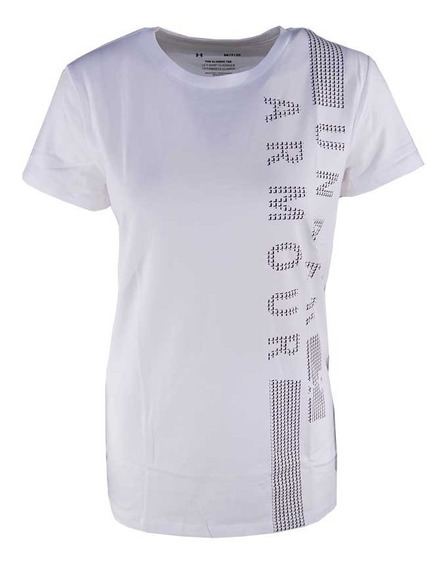 Remera Under Armour Training Graphic Clas Crew Mujer