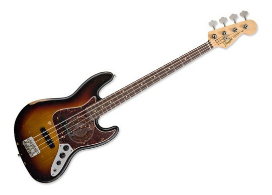 Bajo Fender Jazz Bass Road Worn Series 60`s Mexico Electrico