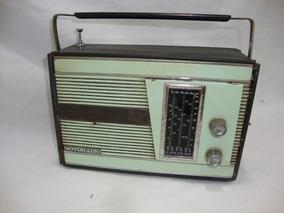 Antigo Radio Portatil Motoradio 6 Faixas Anos 70