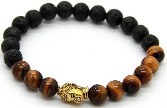Pulsera Brazalete 7 Chakras Buda Yoga Cruz Calavera