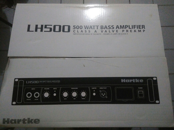 Amplificador Cabeçote Hartke Lh500