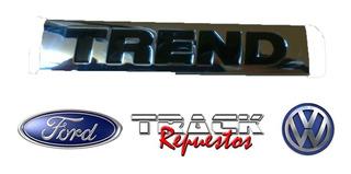 Leyenda Insignia Letras Vw Gol Trend Alternativ