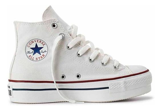 Zapatilla Converse Star Plataform Hi 557143c Mujer