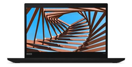"Imagen 1 de 6 de Laptop Lenovo ThinkPad X X390 negra 13.3"", Intel Core i5 8265U  8GB de RAM 256GB SSD, Intel UHD Graphics 620 1920x1080px Windows 10 Pro"