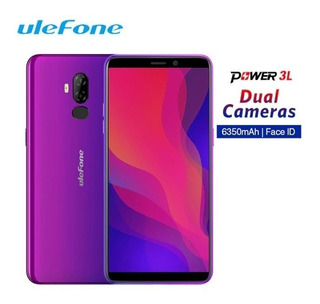 Ulefone Power 3l 6 Pol Face Id 6350mah 13mp +5mp Android 8.1