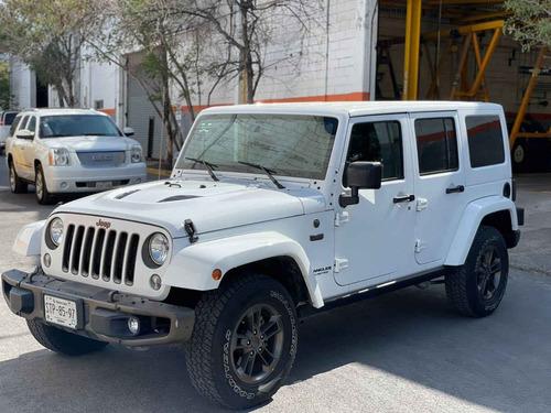 Imagen 1 de 15 de Jeep Wrangler 2016 5p Unlimited Sahara V6/3.6 Aut