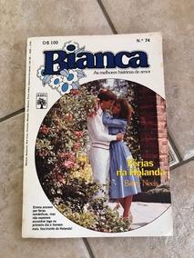 Livro De Romance Bianca Número 74 Férias Na Holanda