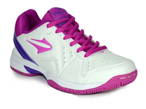 Zapatillas Topper Rookie Mujer Tenis Urbana Blanca Original
