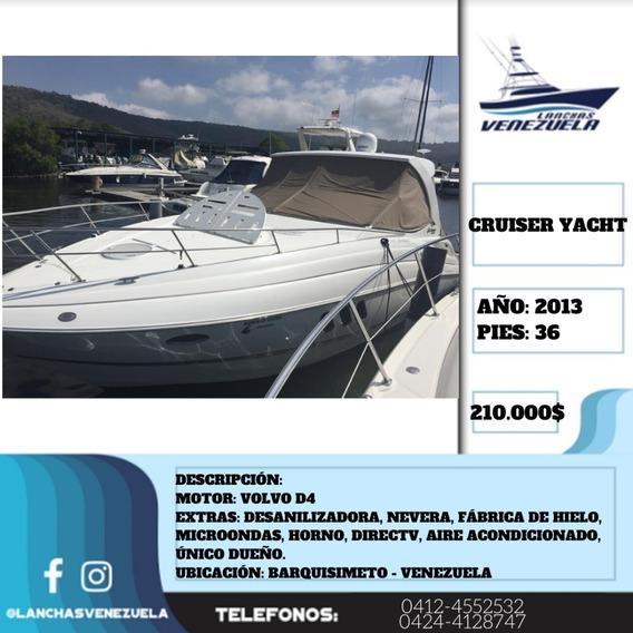 Yate Cruiser Yacht 36 ( Casco De Fibra) Lv422