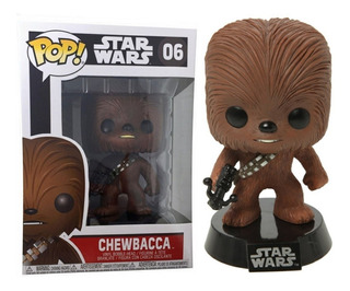 Funko Pop Chewbacca Star Wars 06 Distribuidora Lv