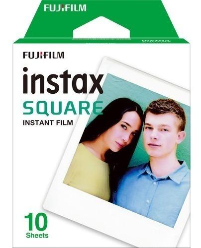 Fujifilm Instax Square Instant Filme Com 10unid