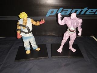 Street Fighter Gashapon Lote X2 Detalles