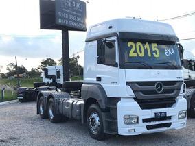 Mercedes Axor 2644 6x4 Ano 2015