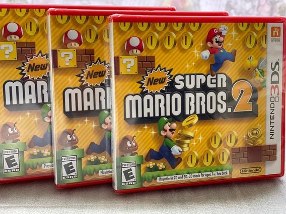 New Super Mario Bros. 2 - Jogo Nintendo 3ds Novo