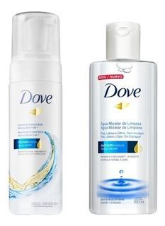 Dove Combo Limpieza Agua Micelar X200ml + Mousse Facial X150