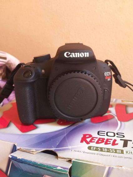 Câmera Eos Rebel T5 Com Lente Ef-s 18-55mm Is Ii Br