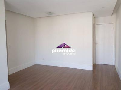 Apartamento Com 3 Dormitórios Para Alugar, 70 M² Por R$ 1.350/mês - Jardim Aquarius - São José Dos Campos/sp - Ap10629