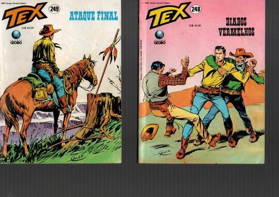 Kit 8 Hq Tex Antigo Raro Temas Diversos ,editora Globo/1990