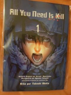 All You Need Is Kill Increible Panini Manga Completa