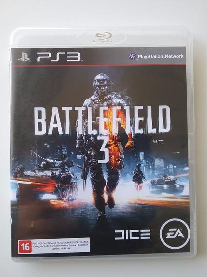 Battlefield 3 Ps3 Mídia Física Original Perfeito