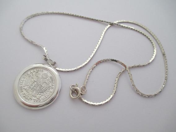 Lindo Conjunto Em Prata 925 - 10.39 Gr