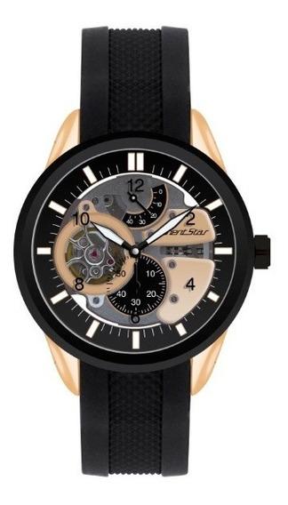 Relógio Orient Masculino Automático Preto 17761