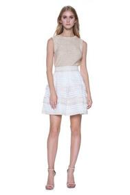 Falda Blanca Bandage