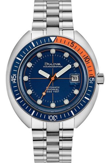 Nuevo Reloj Bulova Oceangrapher Para Hombre Original