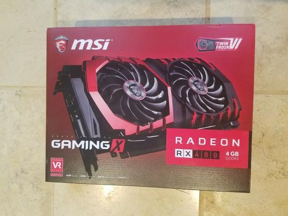 Placa De Vídeo Rx 480 4gb Gaming X