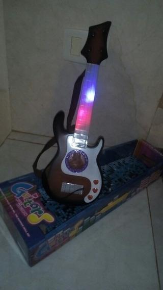 Guitarra De Niños Con Luz Y Sonido.