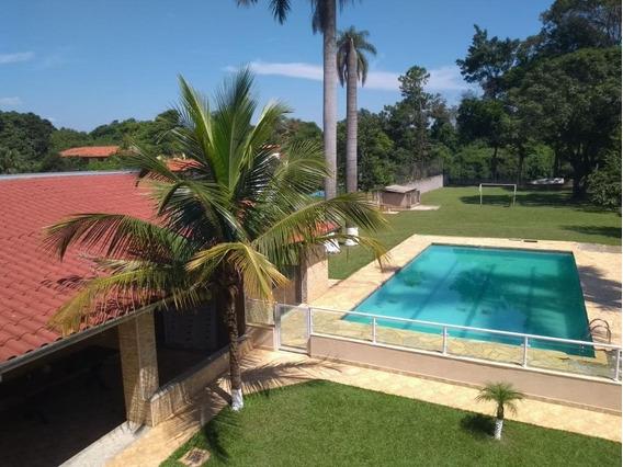 Chácara Com 6 Dormitórios À Venda, 2100 M² Por R$ 900.000,00 - Recreo Do Uirapuru - Campinas/sp - Ch0457