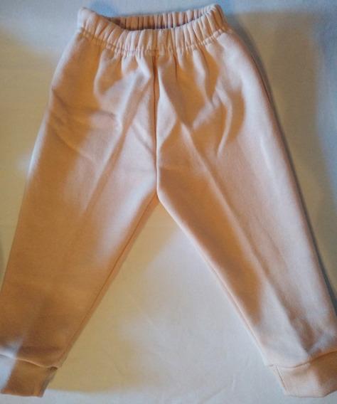 Pantalón Con Puño De Bebe De Frisa. Talle 1 -3 Y 4