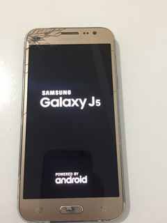 Celular Samsung Galaxy J5 J500 Placa Mãe Ok, S/ Bateria