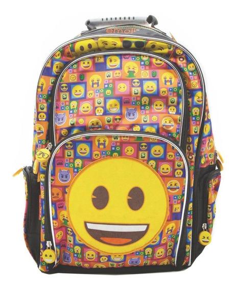 Mochila Espalda Grande 18p Emoji Emoticones #889 Mundomanias