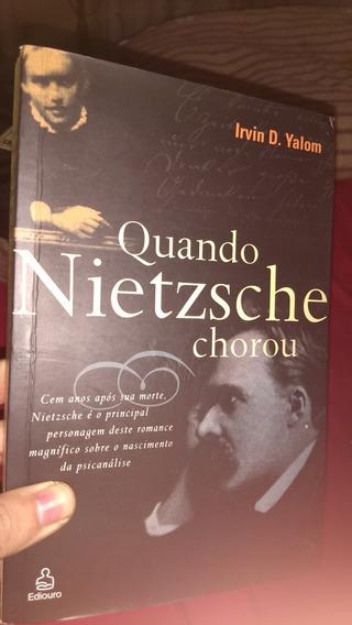 Livro Quando Nietzsche Chorou