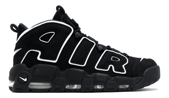Zapatillas Uptempo Black White