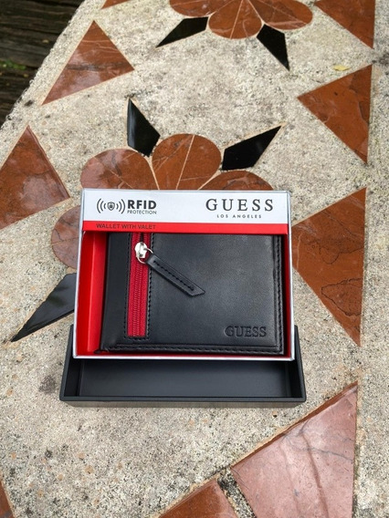 Billetera Para Caballero Marca Guess Original