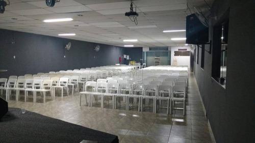 Galpão À Venda, 735 M² Por R$ 1.600.000 - Jardim Irene - Santo André/sp - Ga0714