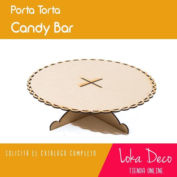 Candy Bar Posa Torta Fibrofácil - 15cm Alto - Oferta!