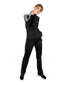 Conjunto Deportivo Para Dama adidas Wear Bk4674 Negro/blanco