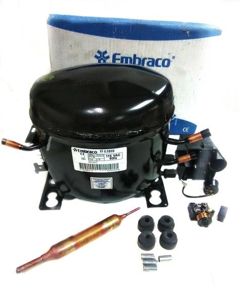 Compresor Embraco 1/4 Hp. 115v. 60hz Cnr-7844