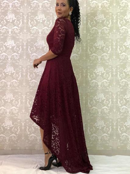 Vestido Longo Festa Madrinha Casamento Formatura Evangélico
