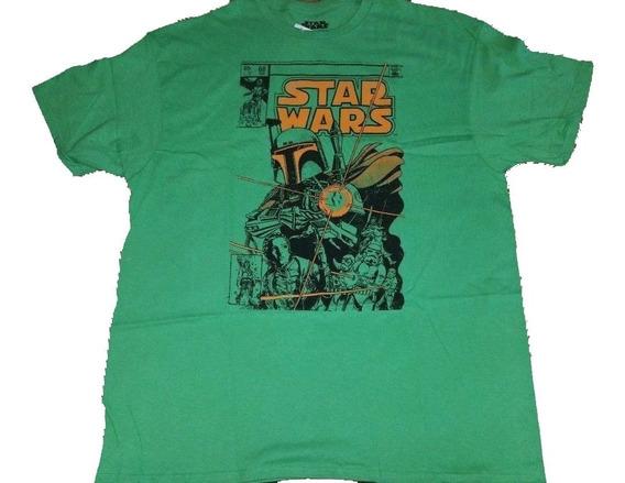 Remera Star Wars Boba Fett Original Talle S Importada Nueva!