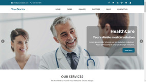 Script De Site Responsivo Para Médicos, Dentistas E Radiolog