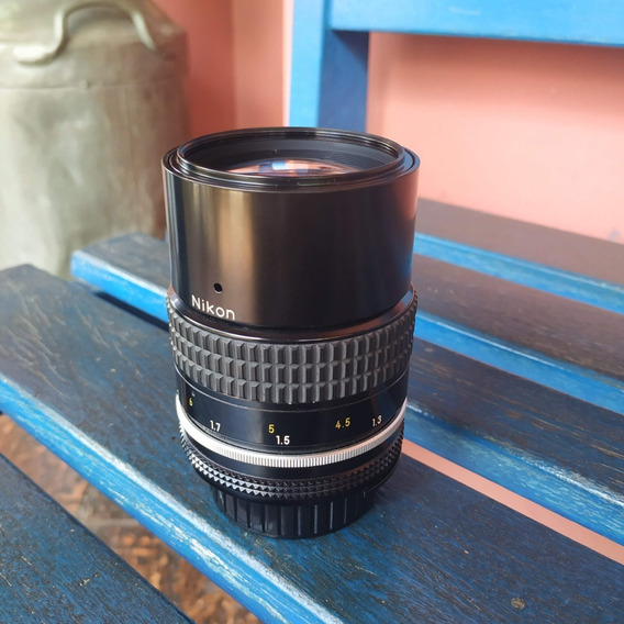 Lente Nikkor Nikon 135 Mm